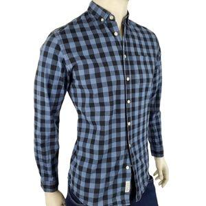 Frank & Oak Casual Button Down Shirt Size Small